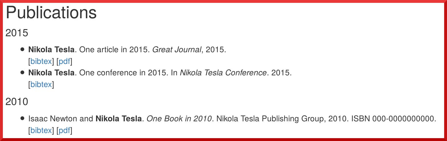 publication-list screenshot